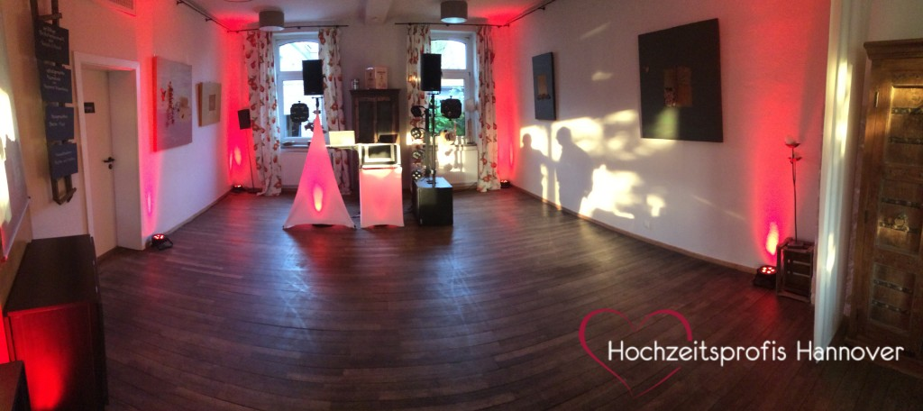 dj mit ambientebeleuchtung hannover hochzeitsprofis. Black Bedroom Furniture Sets. Home Design Ideas